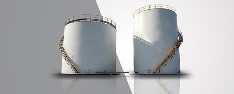 FUEL-OIL STORAGE TANKS