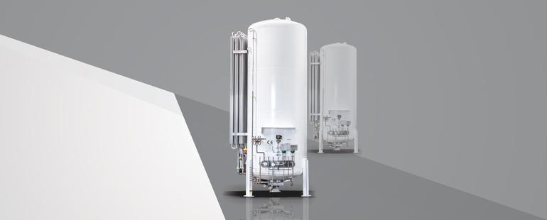 LIN/LOX/LAR AIR GAS STORAGE TANK